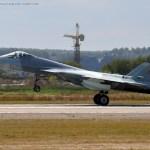 Rússia conclui testes de voo do Sukhoi T-50