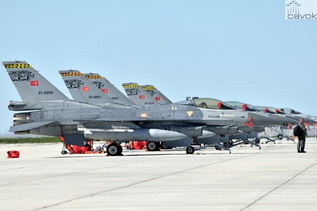 F-16 - Força Aérea da Turquia (THK) (2)
