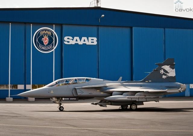 Gripen NG Demonstrator with Iris T Meteor and GBU10 Photographer Katsuhiko TOKUNAGA 15 - GRIPEN NG BR: Saab anuncia efetivação do contrato para fornecimento de armamentos para os caças da FAB
