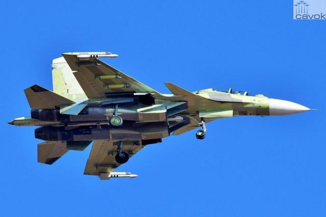 Su-30SM – VKS, Foto - Alexey Korshunov (1)