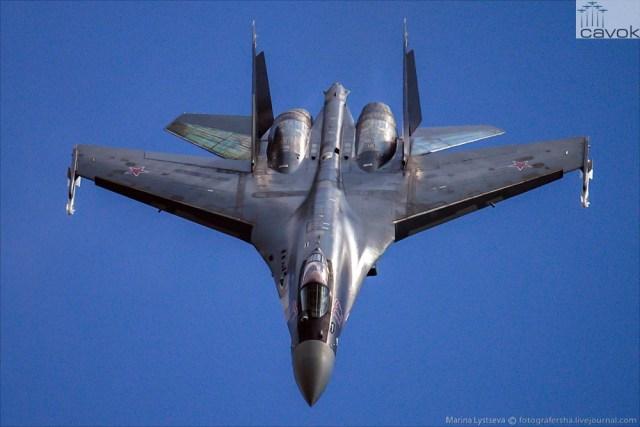 Su-35S MAKS 2015, Foto - Marina Lystseva