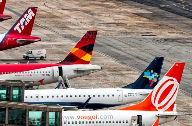 Foto Ricardo Hebmüller - BRASIL: Em crise, cias aéreas devem ter primeira retração em 13 anos