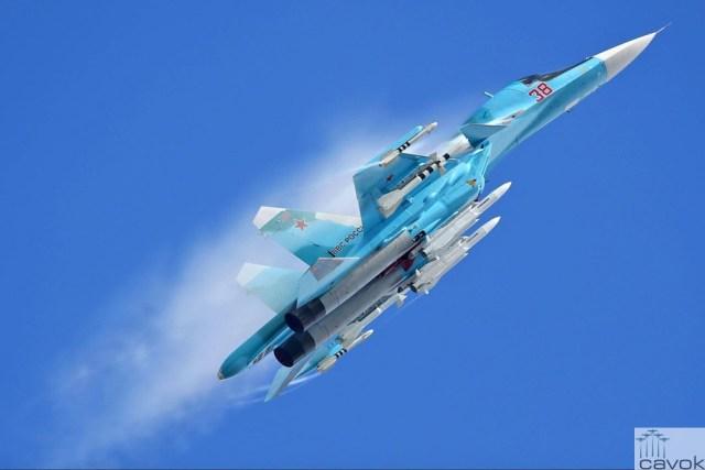 Su-34 - VKS, Foto - Alexander Martynov