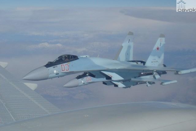 Su-35S - VKS, Síria (1)