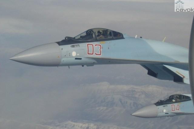 Su-35S - VKS, Síria (7)
