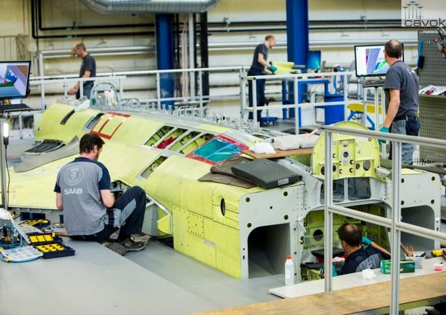 Production Gripen E