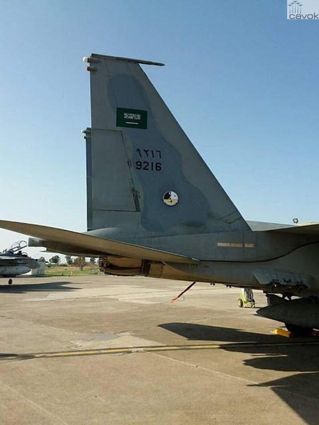 Caças F-15 sauditas já estão na Turquia (3)