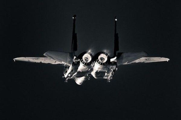 F-15 afterburn