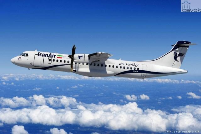 Iran Air ATR 72-600, Renderização - ATR