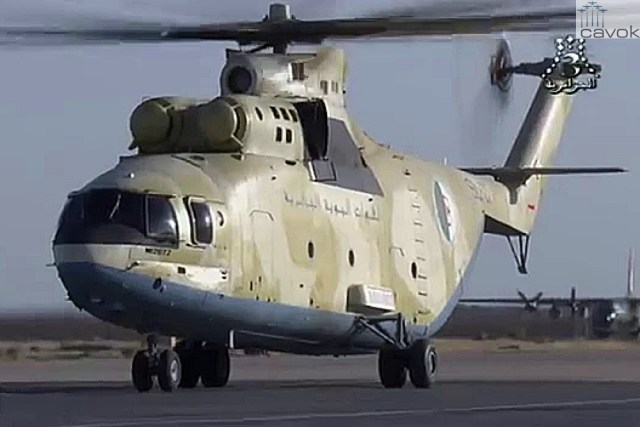 Mi-26T2 - Força Aérea Argelina (QJJ)
