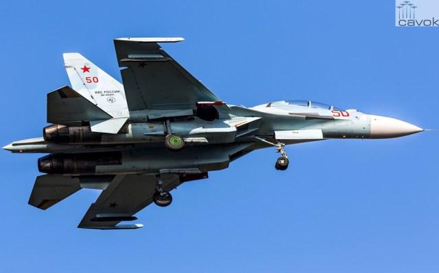 Su 30M2 – VKS Foto Alexander Lebedev - Rússia não fornecerá caças e tanques ao Irã