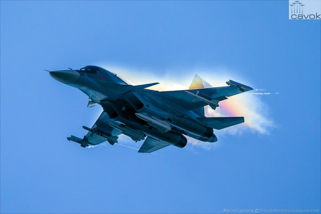 Su-34 - MAKS 2015, Foto - Marina Lystseva (11)