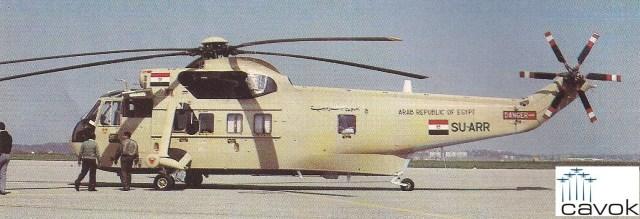 Westland Commando Mk 2A, um dos vários helicópteros operados pela Força Aérea egípcia. O registro civil na fuselagem servia também como código para chamadas por rádio.