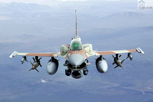 IAF F 16I 2 - Caças F-16 israelenses e jordanianos confrontaram aeronaves russas ao longo da fronteira síria