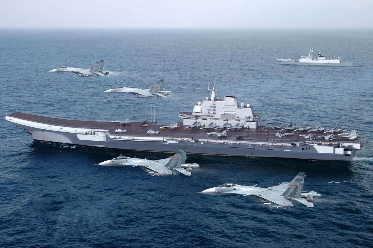 Resultado de imagem para porta aviões chines