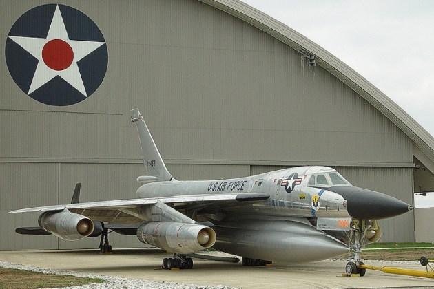 B 58 3 - Bombardeiros do pós-guerra: Convair B-58 Hustler