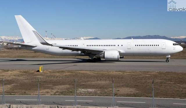 Boeing 767-300ER, Foto - Fabrizio Capenti