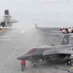 Navio da Marinha dos EUA construído especificamente para transportar o F-35B teve de ser reconstruído