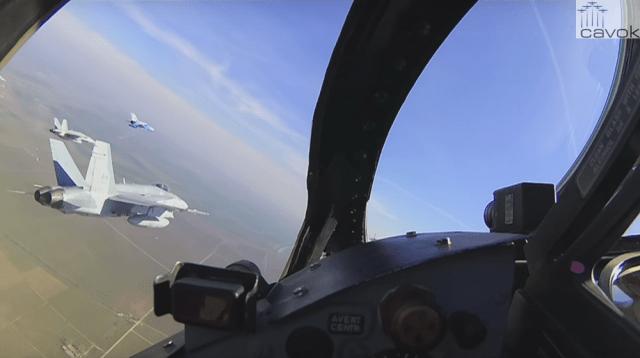 MiG-21 vs CF-18 Hornet - exercício Resilient Resolve 2016