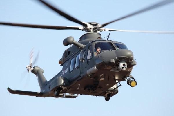 O Paquistão encomendou várias unidades do AW139 para missões de Busca e Salvamento. Na foto, um exemplar nas cores das forças armadas italiana. (Foto: AgustaWestland)