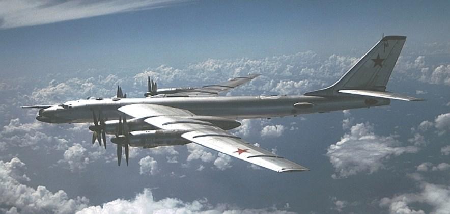 """Bear C DN SC 85 06031 - Bombardeiros do pós-guerra: Tupolev Tu-95 """"Bear"""""""