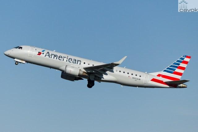 Embraer 190AR (ERJ-190-100IGW) - American Airlines