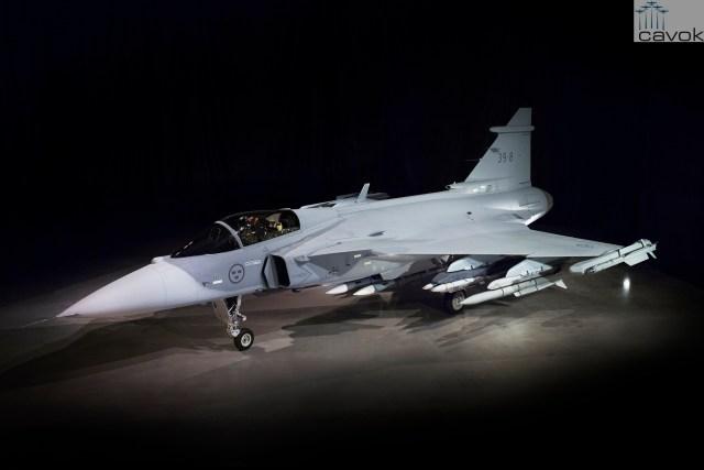 Primeiro protótipo do Saab JAS 39E Gripen 39 8 10 - BRASIL: Projeto do Gripen NG alavanca fabricante local