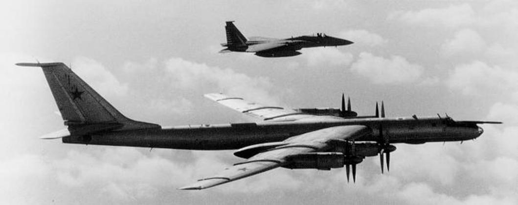 "tu 95f 1 - Bombardeiros do pós-guerra: Tupolev Tu-95 ""Bear"""