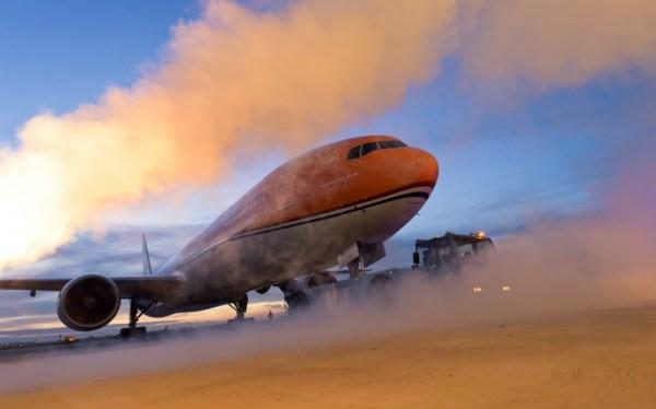 A aeronave será usada no transporte de passageiros para a Olimpíada do Rio de Janeiro. (Foto: KLM)