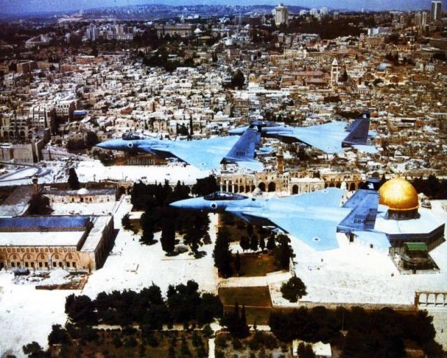F 15 IAF - IMAGEM: Diplomacia israelense...