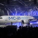 IMAGENS: Rússia apresenta oficialmente o jato comercial MC-21