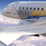 Primeira peça do Embraer E175-E2 é fabricada em Portugal