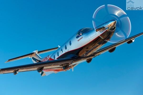A 1.400ª aeronave PC-12 foi entregue para um cliente nos EUA. (Foto: Pilatus Aircraft)