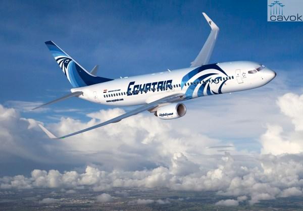 O 737-800 NG será a principal aeronave da frota da Egyptair nas rotas curtas quando for entregue. (Foto: Boeing)