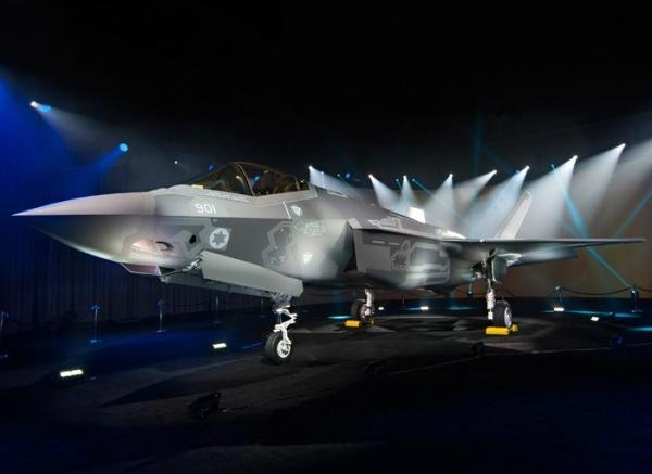 """A primeira aeronave F-35I """"Adir"""", apresentado pela Lockheed no começo de junho. (Foto: F-35.com)"""