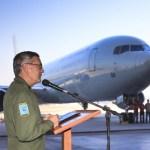 IMAGENS: Boeing C-767 é recebido oficialmente pela Força Aérea Brasileira