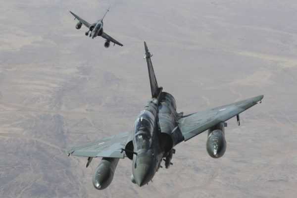 A Dassault modernizará 55 jatos de combate Mirage 2000D da Força Aérea Francesa. (Foto: Armée de L'Air)
