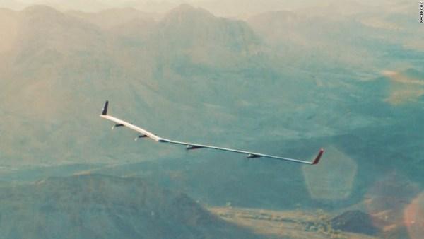 O drone realizou o seu primeiro voo teste em altitudes baixas por 30 minutos.