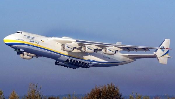 A China assinou acordo coma Ucrânia para fabricação da aeronave de transporte super pesado An-225.