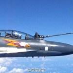IMAGENS: China realiza grande exercício militar sobre o Mar do Sul da China