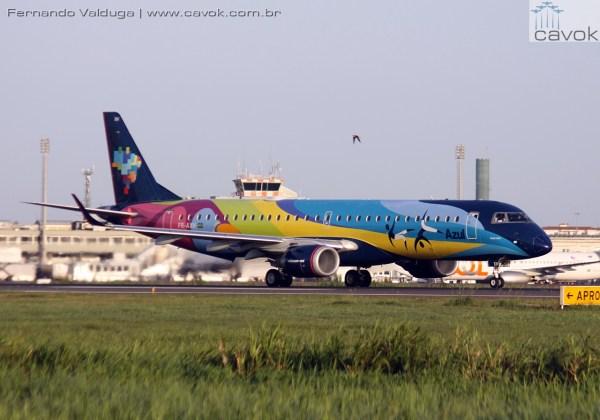 IMG 9977 Azul E190 600x420 - Grupo chinês torna-se maior acionista da companhia aérea Azul