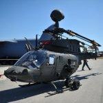 IMAGENS: Croácia recebe os primeiros helicópteros Kiowa Warriors doados pelos EUA
