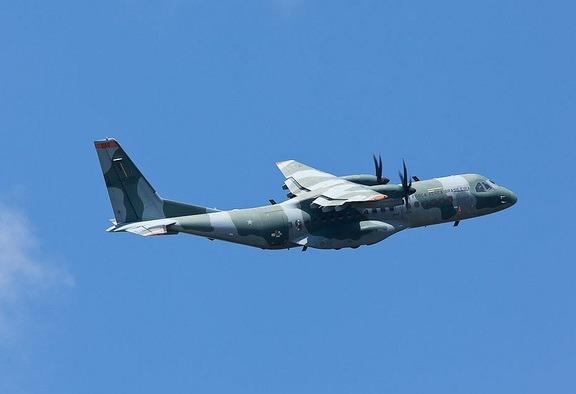 A aeronave SC-105 do 2º/10º GAV. (Foto: Agência Força Aérea)