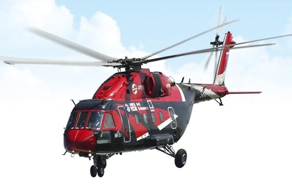 O helicóptero de transporte médio Mi-38. (Foto: Russian Helicopters)