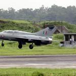 E na Índia, um MiG-21 a menos…