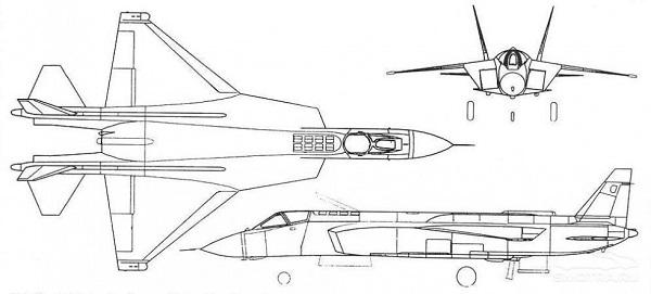 O design do Yak-43 teria sido usado como ideia para o F-35B da Lockheed.