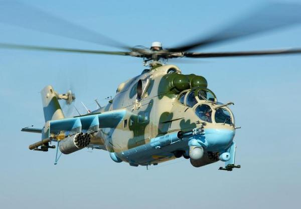 A Ukroboronoprom finalizou a modernização de três helicópteros Mi-24PU1 para Força Aérea da Ucrânia.