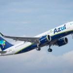 Primeiro Airbus A320neo da Azul chegou no Brasil