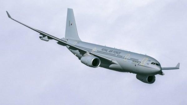 A frota Voyager da RAF agora está com a capacidade operacional plena, com nove aeronaves em serviço integral. (Foto: Air Tanker)
