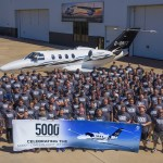 Cessna entrega o 5.000º jato executivo leve Citation